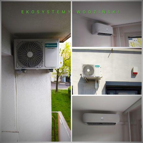Klimatyzacja - montaż , serwis . Bezpłatna wycena. Gwarancja 5 lat