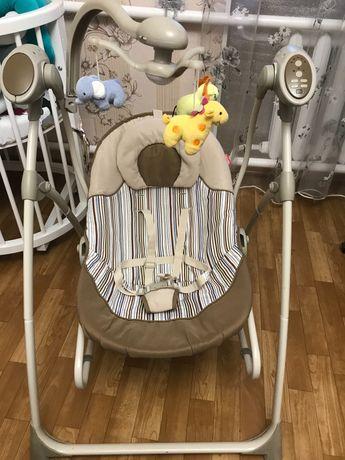 Кресло-качалка CARRELLO Nanny 3 в 1 + подарок