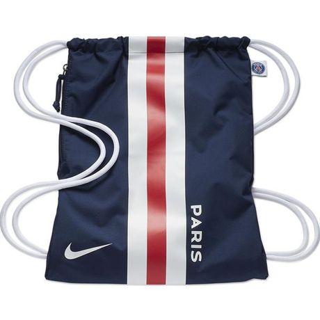 Worek na buty Nike Stadium PSG GMSK granatowo biało czerwony BA5942