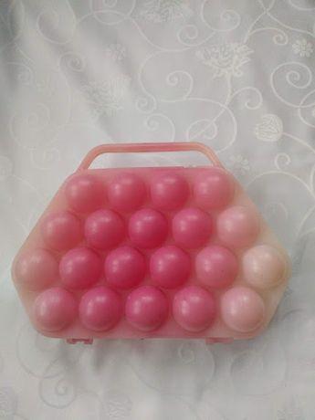 Pojemnik na jajka plastik koszyczek organizer PRL