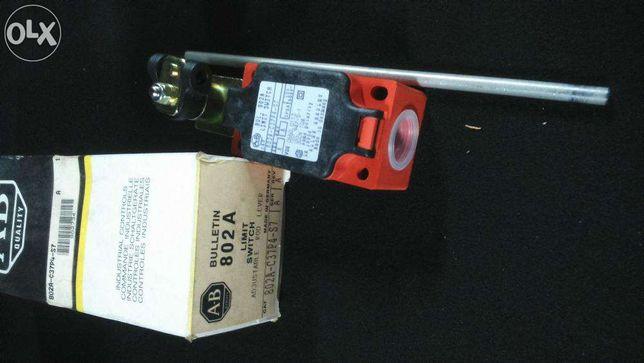 Interruptor limite fim de curso Allen Bradley 802A-C37P4-S7