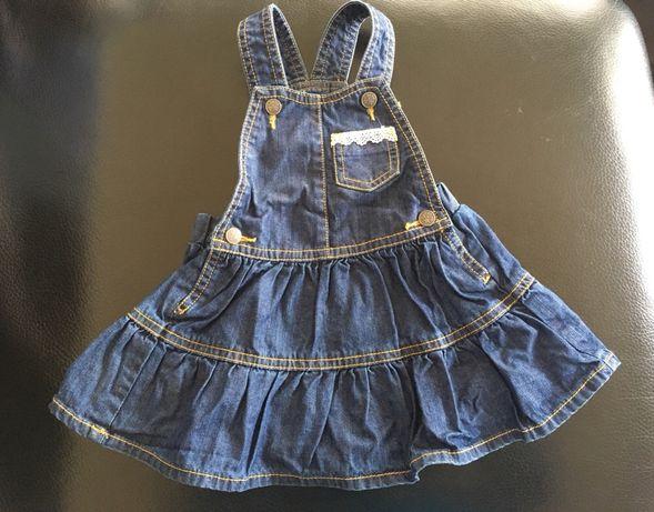 Vestido bebe menina 6m