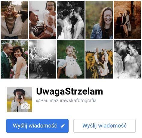 Fotograf ślubny, rodzinny. Chrzciny, komunia, sesje zdjęciowe