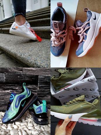Скидка на женские шлепки и кроссовки Nike M2K Tekno,Supreme,270720
