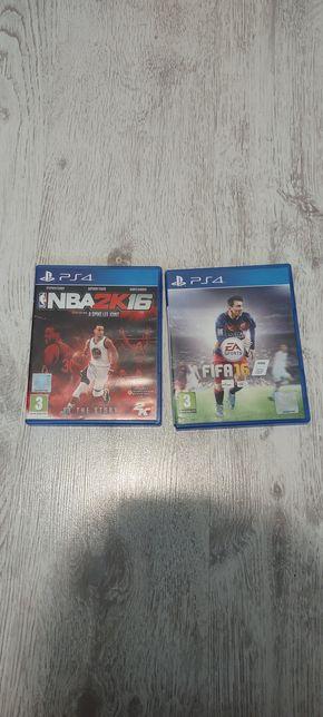 FIFA 16 nba2K16 na sprzedaż