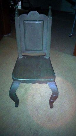 Stare unikatowe krzesełko dla lalek