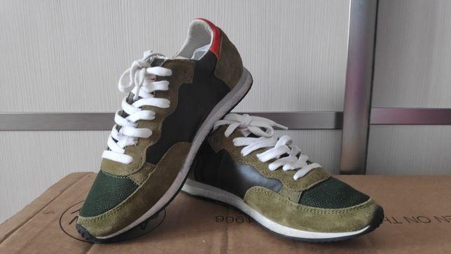 Стильные кроссовки philippe model 33р 21,5-22 стелька. НОВЫЕ