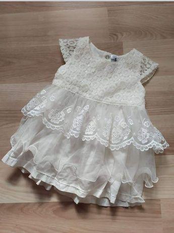 Нарядне плаття для дівчинки. Плаття на хрестини