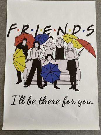 Plakat Friends 50x70cm