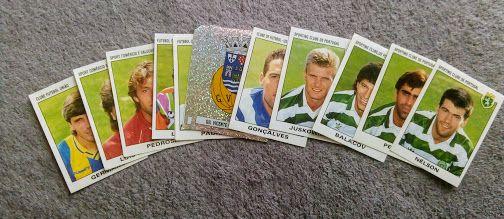 Cromos Campeonato Futebol 93/94 - novos