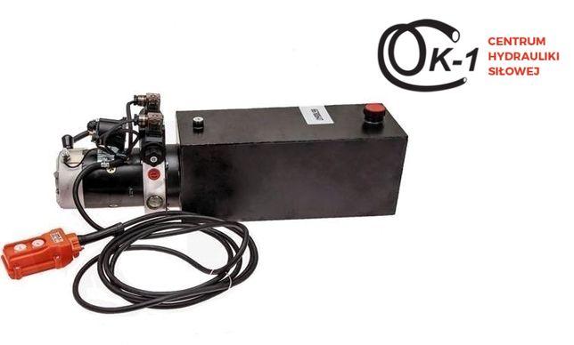Agregat hydrauliczny z rozdzielaczem NG06-4/3 DC2.0KW 12V zbiornik 10L