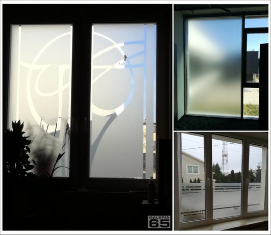 oklejanie folią samoprzylepną okien i witryn, reklama przestrzenna