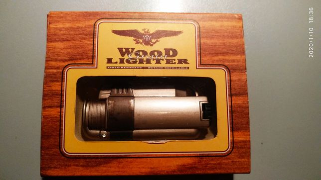 "Продам пьезо зажигалку ""WOOD LIGHTER""."