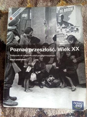 """Podręcznik do historii """"Poznać przeszłość.Wiek XX""""Nowa era."""