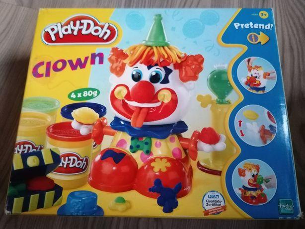 Zabawka Klaun clown play doh
