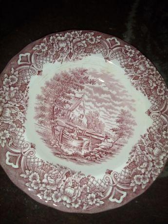 Talerze porcelana 10zl za sztukę