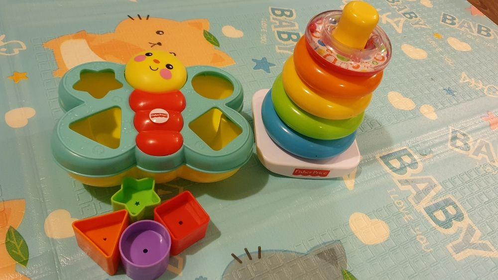 2 zabawki Fisher Price dla maluszka Płock - image 1