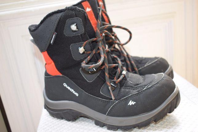 мембранные зимние ботинки Кечуа Quechua Novadry р.34 22,5 см