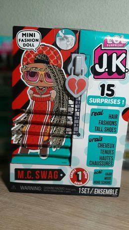 Кукла ЛОЛ сюрприз JK LOL Surprise Mini Swag