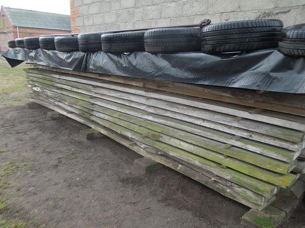 Bale , Słupki z Topoli , Drewno konstrukcyjne sezonowane