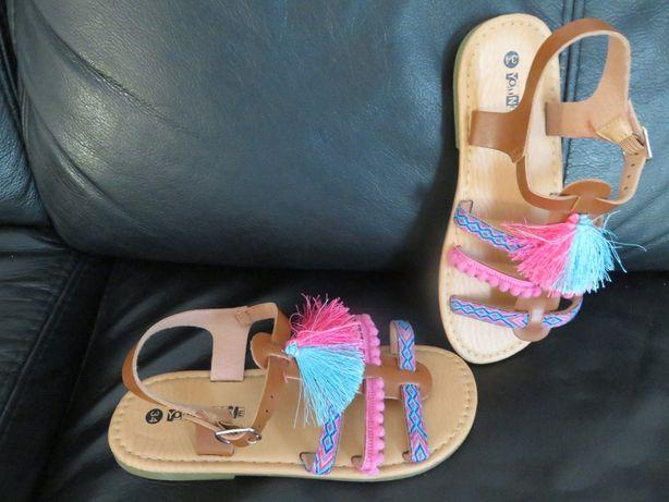 sandałki, buciki dla dziewczynki rozm. 34
