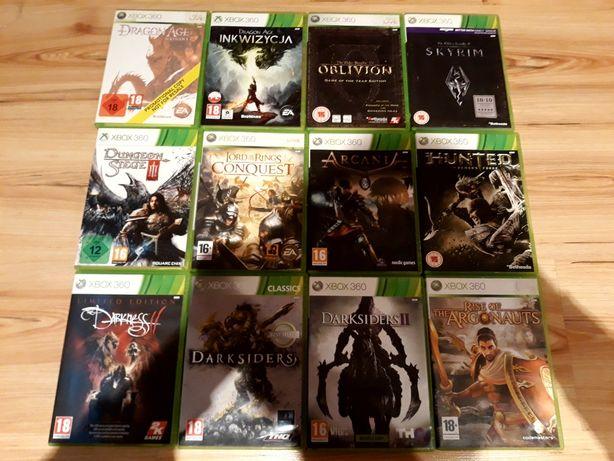 Arcania Dragon Age Skyrim Gothic Darksiders gry Xbox 360