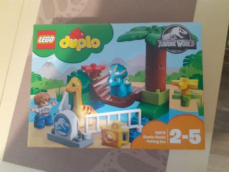 Новый конструктор Lego Duplo 10879 Парк динозавров