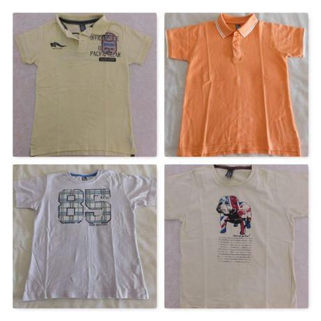 Pólos & t-shirts Zara (tamanho 5-6 anos)