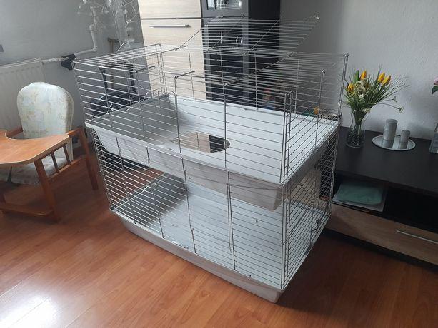 Duża klatka dla królika lub innego zwierzątka