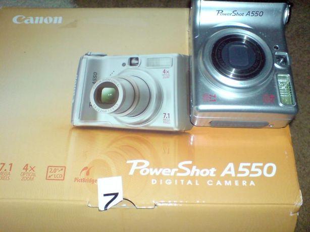Фотоаппарат Canon PowerShot A550