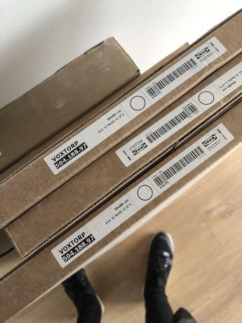 Ikea fronty kuchenne Voxtorp biały połysk 30x80 trzy sztuki nowe