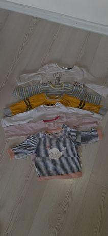 Bluzeczki dla dziewczynki 62-68