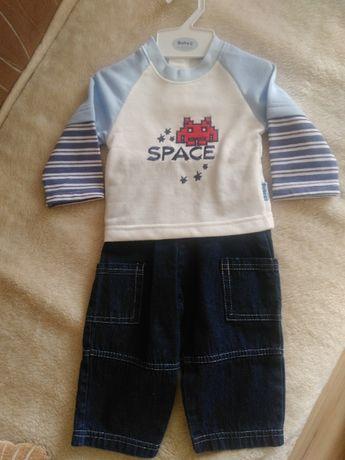 Bluza+ spodnie 0-3miesiace