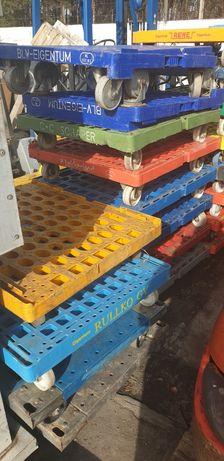 Wozek magazynowy na kółkach  udźwig do 500 kg