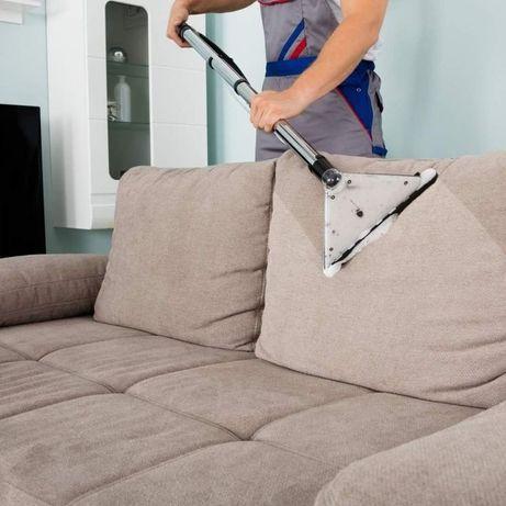 Химчистка диванов и ковровых покрытий