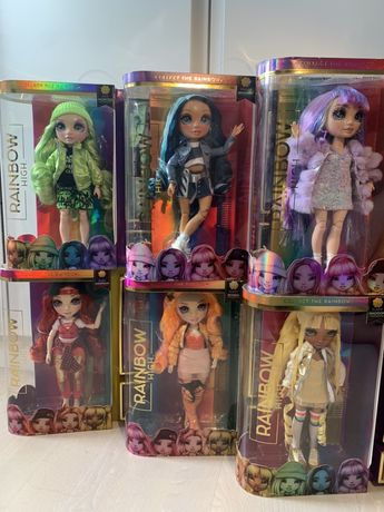 Кукла Рейнбоу Хай Rainbow Surprise лол омг пупси девочки