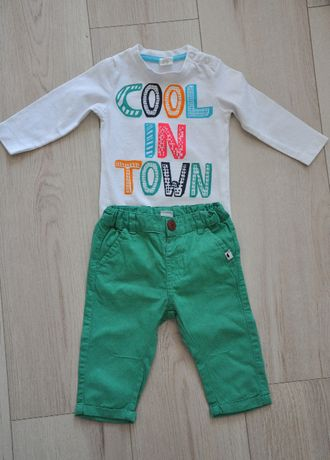 Cool Club spodnie chinosy bdb rozm. 68