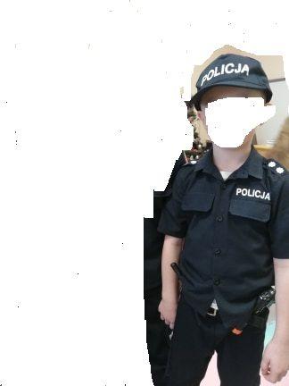 strój policjanta