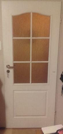 Drzwi pokojowe 80 prawe białe