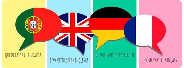 Aulas/Formação Intensiva - Francês / Inglês e Alemão