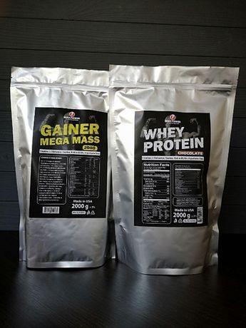ХИТ! Протеин 2кг + Гейнер 2кг+АКЦИЯ!