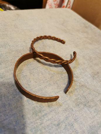 Stare zabytkowe bransolety radiestetyczne na nadgarstek