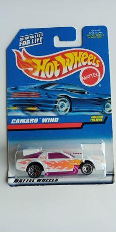 Hot Wheels camaro wind