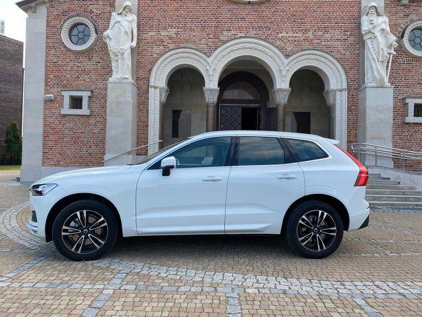 Samochód Auto SUV Volvo XC60 do ślubu wesele białe