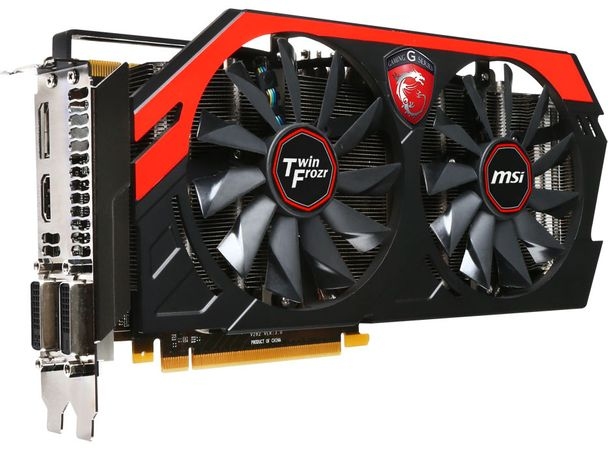 MSI PCI-Ex GeForce GTX 770 4GB GDDR5 (256bit)