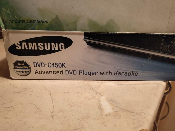 DVD-плеер Samsung dvd c450k