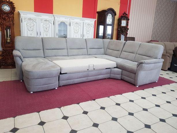 Новый угловой диван, мягкая мебель, раскладной диван из Германии