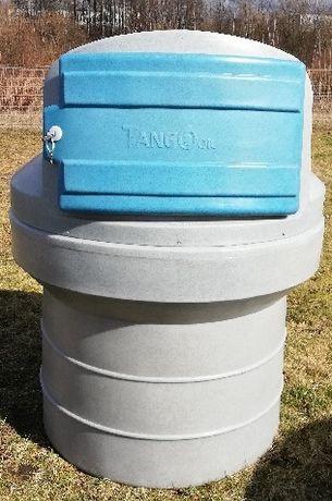 Zbiornik dwupłaszczowy 1000 l Tango Oil 1200