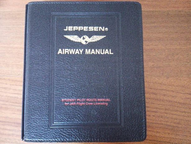 Jeppesen Airway Student pilot route manual