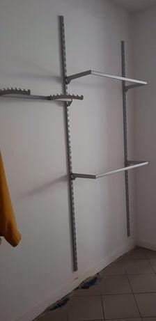 Regał -system na ścianę